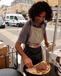 Meet Karim, Crepe maker in Versailles Markets