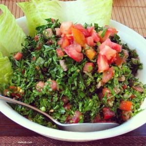Authentic Tabbouli, free of nasties